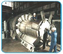The Wells Turbine continues to rotate in one direction even as the direction of flow reverses